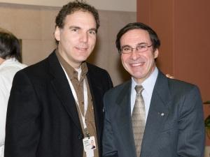 Glenn J. Nashen and Dr. Mark Wainberg (Oct. 2009)