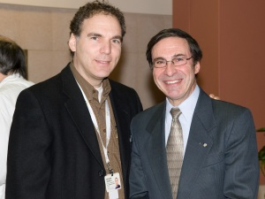 Glenn J. Nashen and Dr. Mark Wainberg (Oct. 2009)