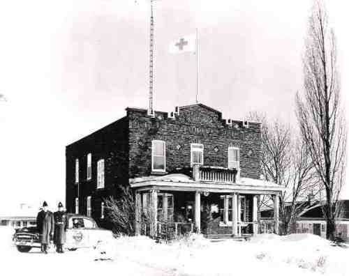8100 Cote Saint-Luc Road through the years: Home of CSL's first mayor, Luc Prud'homme, Police Station, Fire Station, Recreation Department, Senior Men's Club, Emergency Measures Organization, Emergency Medical Services, Public Security Department, Public Safety headquarters