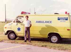 Cote Saint-Luc EMO launched my side-career as an Urgences-Santé ambulance technician in 1980