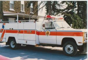 "EMO's RMF-11 (for Rescue, Medical, Fire) was a copy of the vehicles from the 80s TV series ""Emergency"""