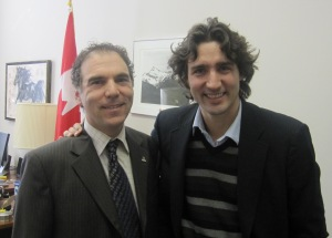 Meeting with Justin Trudeau, M.P.