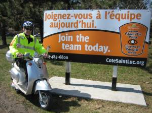 CSL launches eco-friendly COP Scooter Patrol