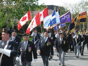 VE Day parade in Cote Saint-Luc 2008