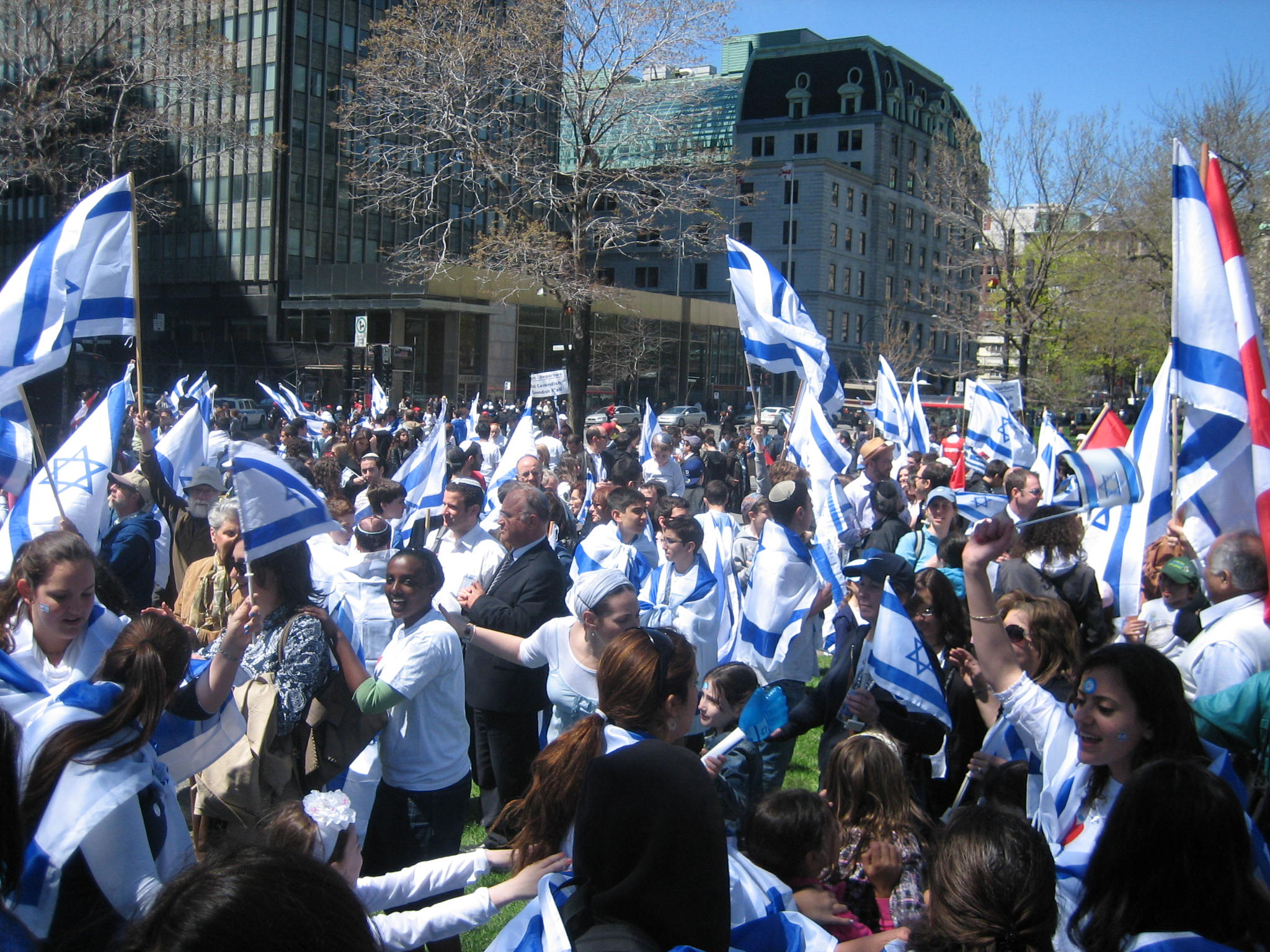 Parade Independence Israel Day