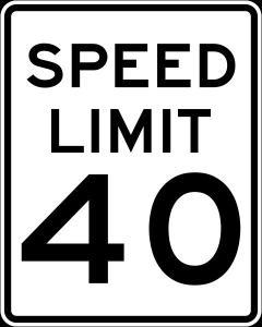 speedlimit40