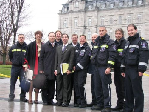 Saving EMS at the Quebec National Assembly