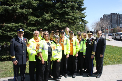 Cote Saint-Luc volunteer Citizens on Patrol
