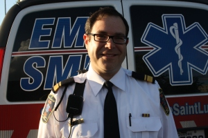"EMS Chief Sheldon ""Shloime"" Goldberg and his team of skilled and dedicated medics are always close at hand, ready to spring into action"