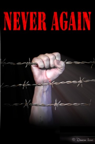 Never-Again-book-cover-illustraion-by-artist-Duncan-Long-2013