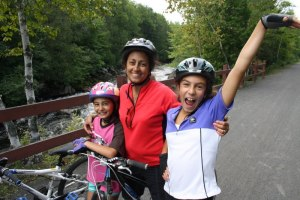 Make bike helmets a family affair
