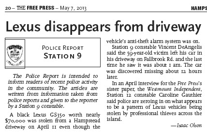 Free Press, May 8, 2013. Click to enlarge.