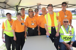Members of the Cote Saint-Luc volunteer Citizens on Patrol