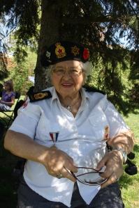 Legion member Sandy Bernstein