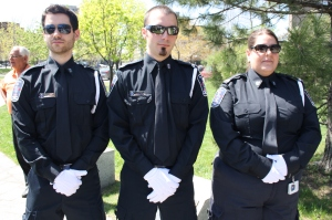 Cote Saint-Luc volunteer Emergency Medical Services honour guard