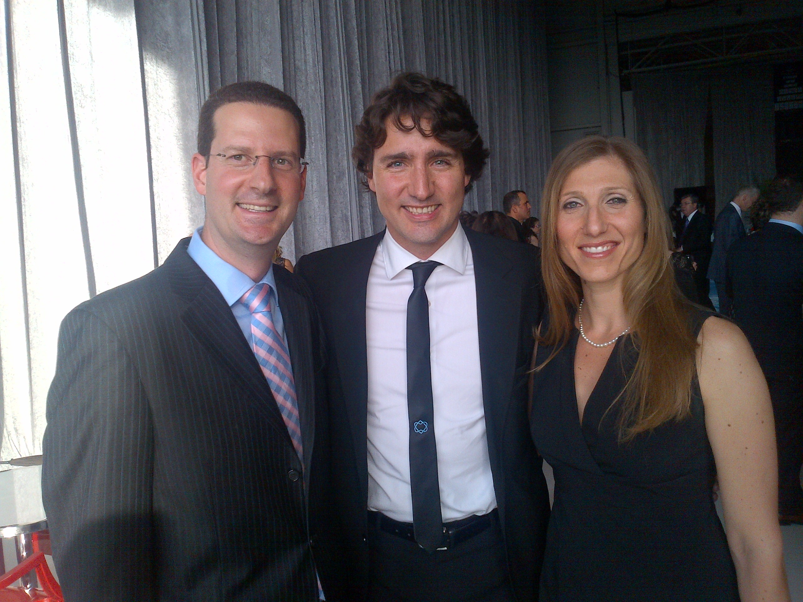 Cjpac jet setter action party 2013 nashen notes local liberal love in howard and heather liebman greet justin trudeau kristyandbryce Gallery