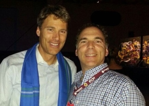 I had the opportunity to thank Vancouver Mayor Gregor Robertson for hosting this magnificent conference