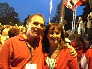 CSL Canada Day co-chairs Cllrs. Glenn J. Nashen and Ruth Kovac.