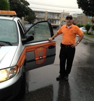 Councillor Glenn J. Nashen on duty with vCOP