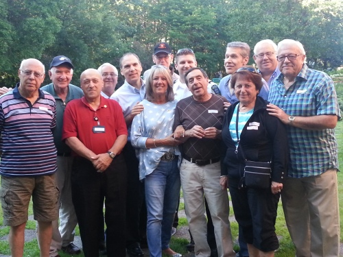 Cote saint-Luc volunteer Citizens on Patrol get together for a celebration of the longest serving members