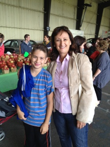 Cllr. Ruth Kovac with grandson Eitan