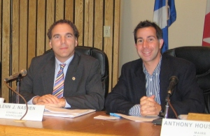 Mayor Anthony Housefather and Councillor Glenn J. Nashen