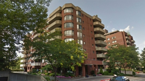 The 87-year-old died in a blaze at the Shalom Tower on Norwalk Thursday afternoon (Image: Google Street View)