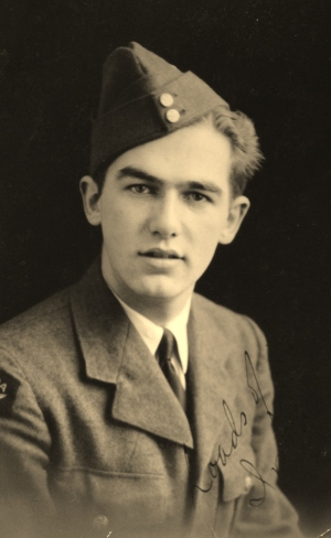 Sergeant George Nashen, Royal Canadian Air Force, 1944