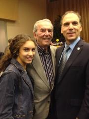 Nicole, George and Glenn J. Nashen