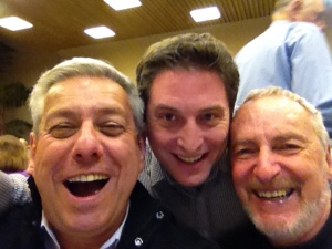 vCOP Selfie: Peter, Jordy and Gerry share a laugh