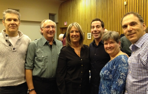 Supervisors Mitchell Herf, Lewis Cohen, Susie Schwartz with Mayor Anthony Housefather, Team Leader Elaine Meunier, Cllr. GJ Nashen