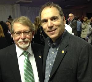 Mayor William Steinberg and Cllr. GJ Nashen