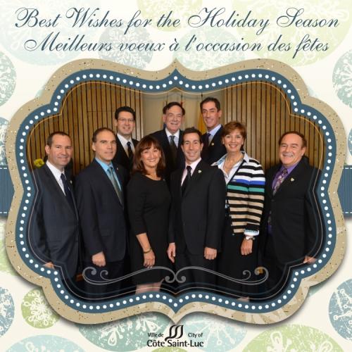 Best wishes - Meilleurs voeux - CSL Council 2013