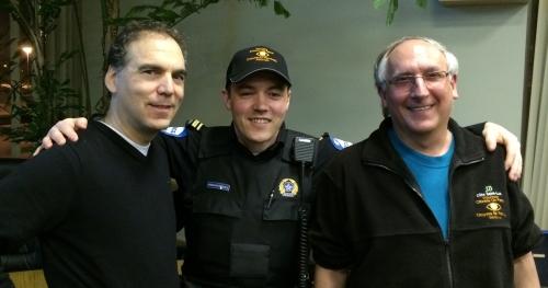 Glenn J. Nashen, Montreal Police Sargent Brian Cunningham, vCOP Senior Supervisor Lewis Cohen