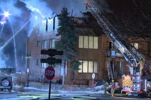 Global News Arson fire Tommy Douglas