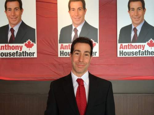 CSL Mayor Anthony Housefather at his campaign launch to seek the Liberal Party of Canada nomination in Mount Royal