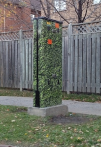 Another 'hidden' Bell Canada box along Kildare Ave