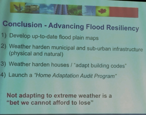Experts urging immediate action by municipalities to mitigate extreme weather disasters