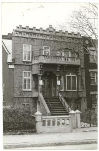 Jewish Public Library in 1942. 4099 Esplanade Street, Montreal.