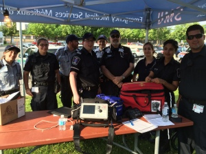 EMS volunteers always at the ready