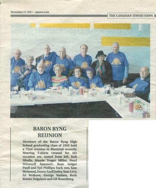 Canadian Jewish News | Nov. 17, 2011 | Click to enlarge