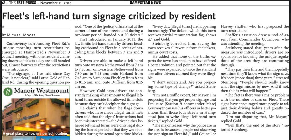 Nov. 11, 2014   Free Press   Click to enlarge