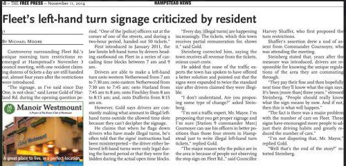 Nov. 11, 2014 | Free Press | Click to enlarge