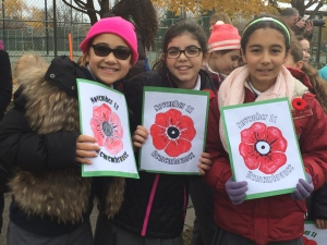 JPPS students learning importance of remembrance