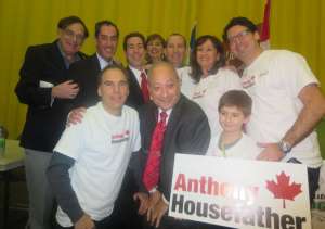 CSL Council celebrates victory with Anthony Housefather