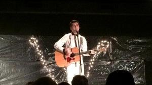 Crooner Brandon Schwartz wows the crowd