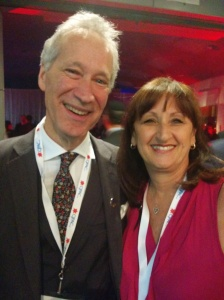 MNA David Birnbaum and Councillor Ruth Kovac