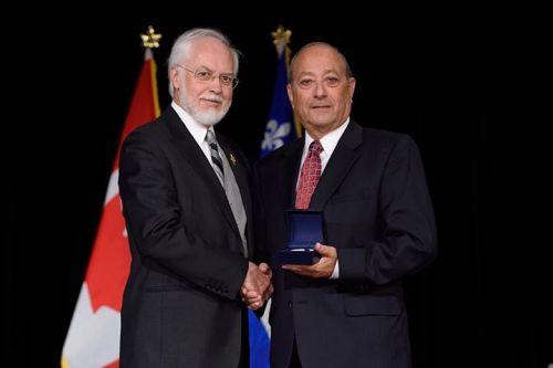 Sidney Margles Lt Governor Medal 2015