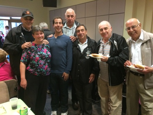 Irving Shock, Elaine Meunier, Mayor Anthony Housefather, Abe Miller, Phil Mayman, Harvey Cherow, Isaac Dahan