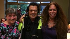 Elaine Meunier, Johnny Champagne and Helen Gwiazda